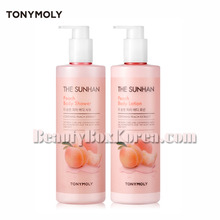 TONYMOLY The Sunhan Peach Body Set 500ml*2ea,Own label brand