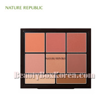 NATURE REPUBLIC Pro Touch Blusher Palette 34g,Beauty Box Korea