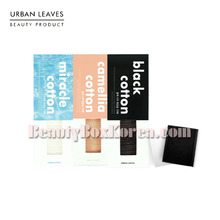 URBAN LEAVES Cotton Pads Set 3items