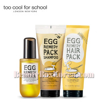 TOO COOL FOR SCHOOL Egg Remedy Hair Care Set 3items