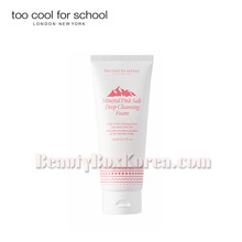TOO COOL FOR SCHOOL Mineral Pink Salt Deep Cleansing Foam 150ml