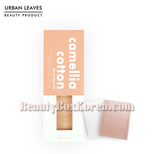 URBAN LEAVES Camellia Cotton Puff 70ea