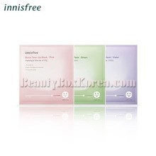 INNISFREE Quick Tone Up Mask 10g*3ea,Beauty Box Korea