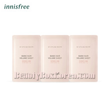 INNISFREE My Styling Recipe Bang Hair Volume Sheet 1.5g*3ea