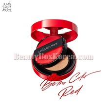 JUNGSAEMMOOL Skin Nuder Cushion 14g+14g[Be My Color, Red Edition]