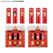 THE FACE SHOP KAKAO FRIENDS Little Friends Mini Lipstick Kit 1.1g*3ea