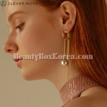 CLEVER MOVE #400 Earrings Gold 1pair