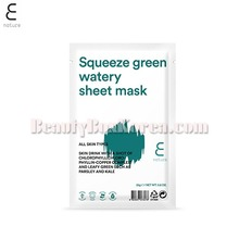 E NATURE Squeeze Green Watery Sheet Mask 25g