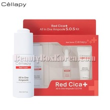 CELLAPY Red Cica All In One Ampoule S.O.S Kit 3items