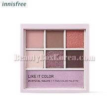 INNISFREE Like It Color 11 Crystal Mauve 7-Pan Palette 7.9g[Like It Color November 18 Limited][Online Excl.]