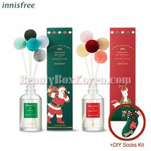INNISFREE Perfumed Diffuser 110ml[20INNISFREE Perfumed Diffuser 110ml+DIY Socks Kit[2018 Green Christmas Limited Edition]18 Green Christmas Limited Edition]