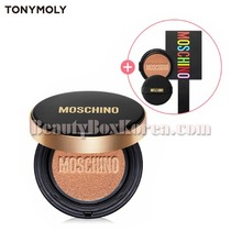 TONYMOLY Gold Edition Chic Skin Cushion Set 3items[MOSCHINOXTONYMOLY]