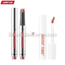 CANDY LAB Lip Stalker 2g+Cream-Pop The Velvet Lip Color 4.5g,CANDY LAB