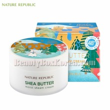 NATURE REPUBLIC Shea Butter Cream Moist 100ml[Green Holiday Edition]