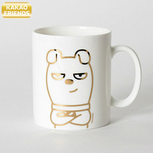 KAKAO FRIENDS Gold Line Mug 1ea