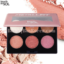 TOUCH IN SOL Metallist High Shine Bouncy Cream Shadow Palette 18g