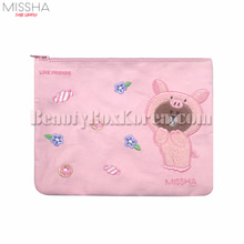 MISSHA LINE FRIENDS Piggy Brown Pouch 1ea