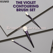 KUMO X SSIN The Violet Contouring Brush Set 3items