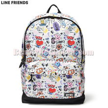 LINE FRIENDS BT21 Graphic Mesh Backpack 1ea