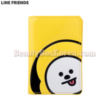 LINE FRIENDS BT21 Enamel Passport Case 1ea