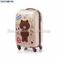 SAMSONITE RED LINE FRIENDS Gentle Brown 55/20 Beige 1ea