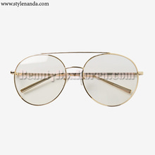 STYLENADA Vintage Metal Boeing Mood Glasses 1ea