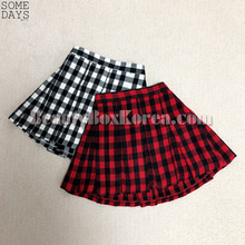 SOMEDAYS Tartan Check Tennis Skirt 1ea