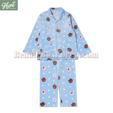 HUNT INNERWEAR LINE FRIENDS Brown Pajama Set 1ea