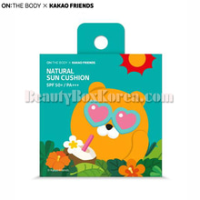 ON THE BODY KAKAO FRIENDS Natural Sun Cushion SPF50+ PA+++ Ryan 15g