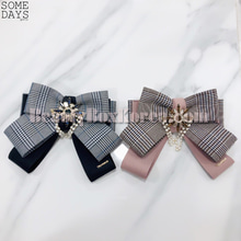 SOMEDAYS Burberry Check Brooch 1ea