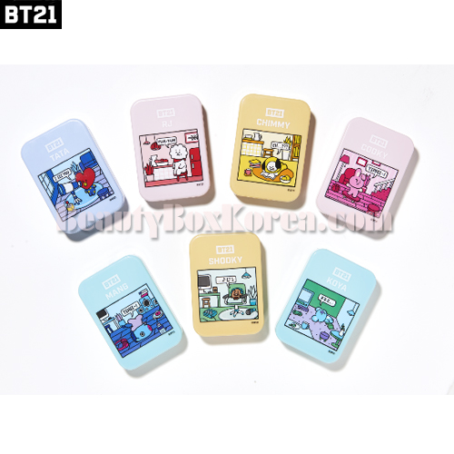 BT21 Contact Lens Case Set 4items