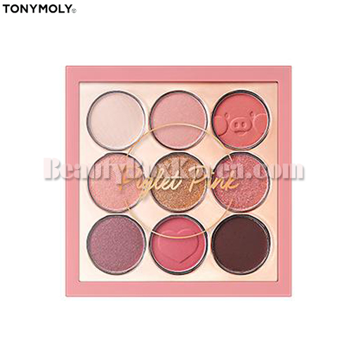 TONYMOLY Perfect Eyes Mood Eye Palette 04 Piglet Pink 8.5g