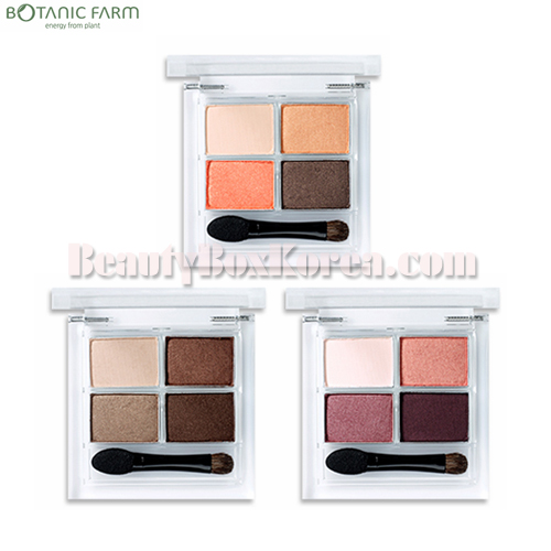 BOTANIC FARM Garden Flower 4Color Eyeshadow Palette 7.2g