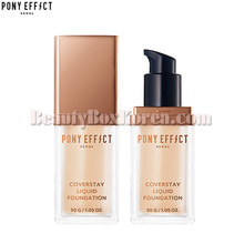 PONY EFFECT Coverstay Liquid Foundation 30g