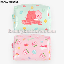 KAKAO FRIENDS Sweet Apeach Enamel Cube Pouch S 1ea