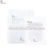 9WISHES Rice Water Sheet Mask 25ml*11ea