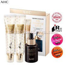 AHC The Pure Real Eyecream For Face Synergy Set 3items