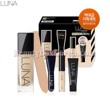 LUNA Long Lasting Foundation Special Set 4items