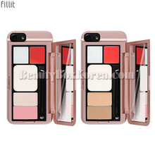 FILLIT iPhone Case 1ea+Makeup Palette 6g