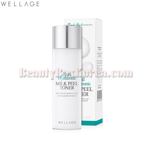 WELLAGE Real Hyaluronic Milk Peel Toner 200ml