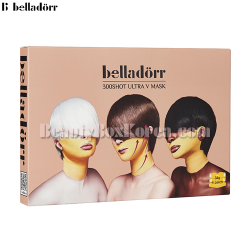 BELLADORR 300shot Ultra V Mask 34g*4ea