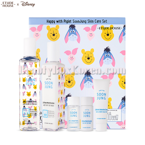 ETUDE HOUSE Soon Jung Skin Care Set 5items[Happy With Piglet]