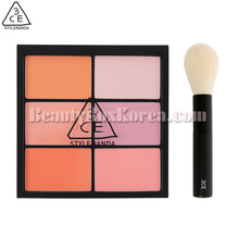 3CE Pro Multi Blush Color Palette #Pure Play Special Kit 2items