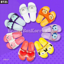 BT21 Character Slippers 1pair