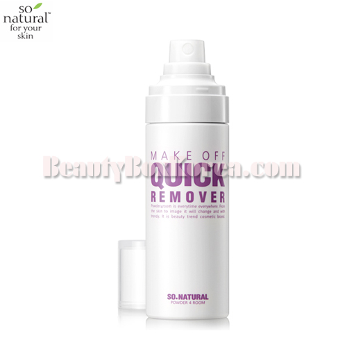 SO NATURAL Make Off Quick Remover 80ml
