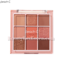 PEACH C Soft Mood Eyeshadow Palette #Soft Coral