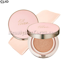 CLIO Kill Cover Founwear Cushion XP Simply Pink Collection SPF 50+ PA+++ 15g+Refill 15g