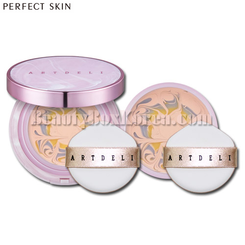 PERFECT SKIN Artdeli Double Power Essence Cover Pact Season2 9.5g+Refill 9.5g