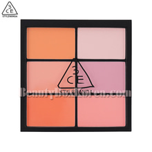 3CE Pro Multi Blush Color Palette #Pure Play 25.8g,Beauty Box Korea