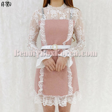 A-RI Lace Frill One Piece 1ea